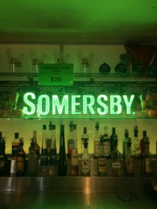 Somersby sign